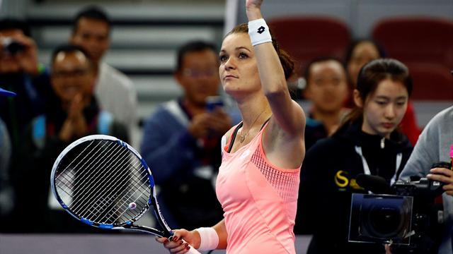 Radwanska, Keys seal semi-final spots in China Open
