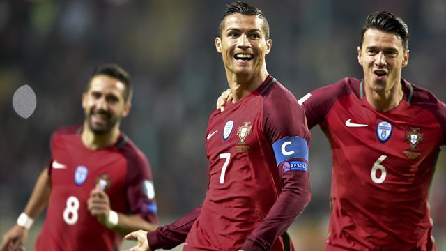 Cristiano firma un póker ante Andorra y Griezmann-Gameiro brillan con Francia