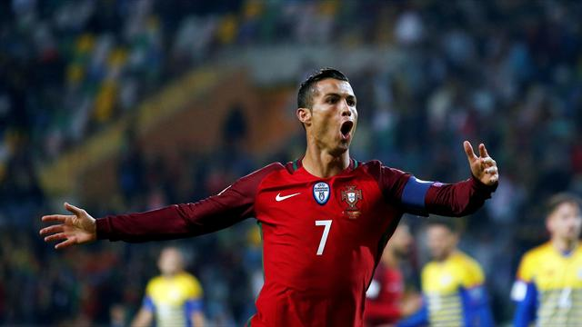 Ronaldo scores four as European champions Portugal return to winning ways