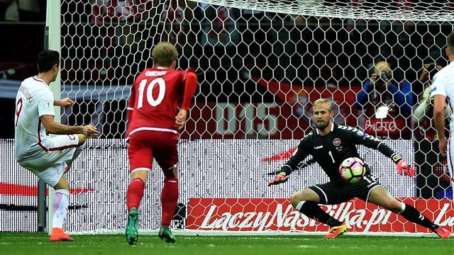 La Pologne peut dire trois fois merci à Lewandowski
