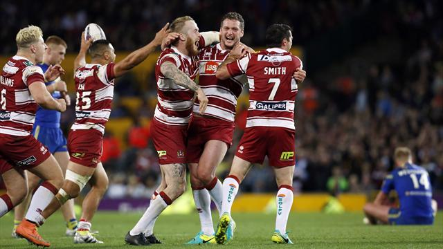 Wigan Warriors fight back to win grand final