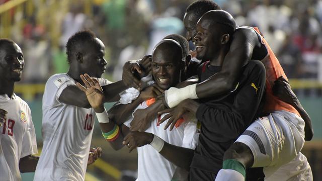 Senegal'e 1 puan Sow'dan