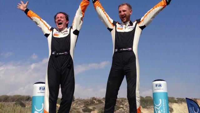 Lukyanuk gana el rally de Chipre y también la Love Cyprus Golden Stage