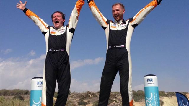 Lukyanuk gana el rally de Chipre y también la Love Cyprus Golden Stage