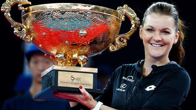 Agnieszka Radwanska gana el Abierto de China