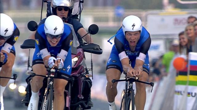 Etixx - Quick Step take team time-trial glory