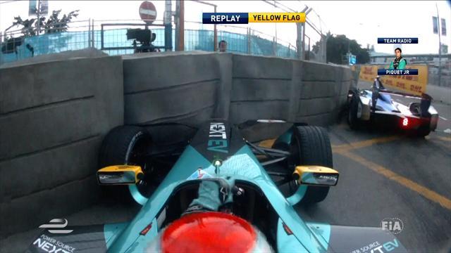 Hong Kong GP: Sebastien Buemi gets title defence off to winning start