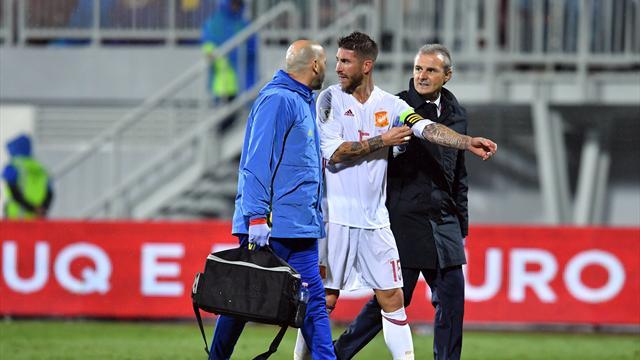 Sorti après une blessure au genou, Ramos peut craindre le pire