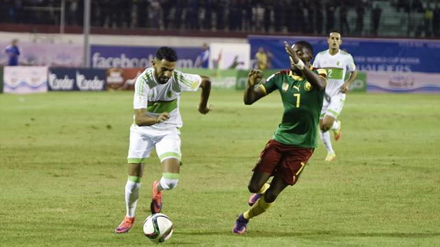 L'Algérie et le Cameroun se quittent sur un nul et laissent filer le Nigeria