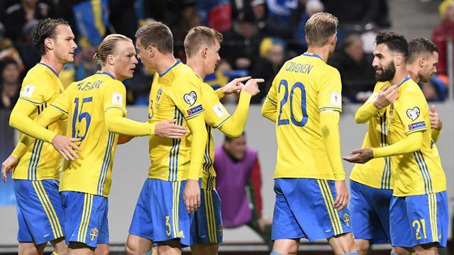 Victorieuse de la Bulgarie, la Suède rejoint la France en tête du groupe