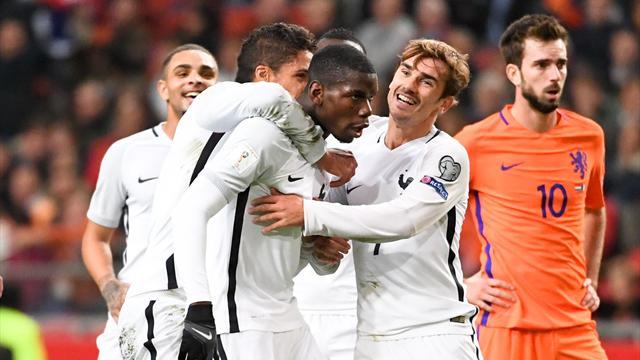 Sa danse de la victoire aux Pays-Bas (VIDÉO) — Paul Pogba