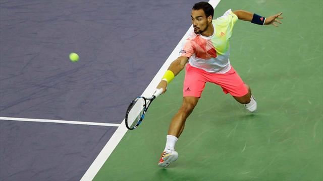 Tennis: Indian Wells. Fognini supera Tsonga, Lorenzi ko