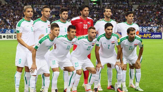 Футболисты сборной Ирака зарезали овцу вобщественном месте, чтобы привлечь удачу