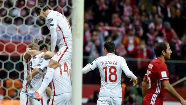 Lewandowski délivre (encore) la Pologne
