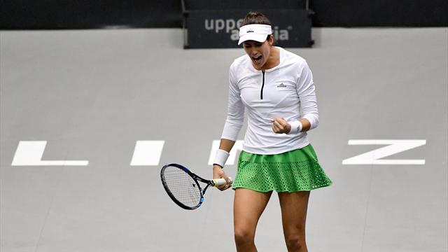 Muguruza vence a Buyukakcay con solvencia en su debut en el torneo WTA de Linz (6-4 y 6-4)