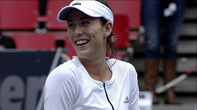 WTA Linz: Muguruza-Buyukakcay, gli highlights