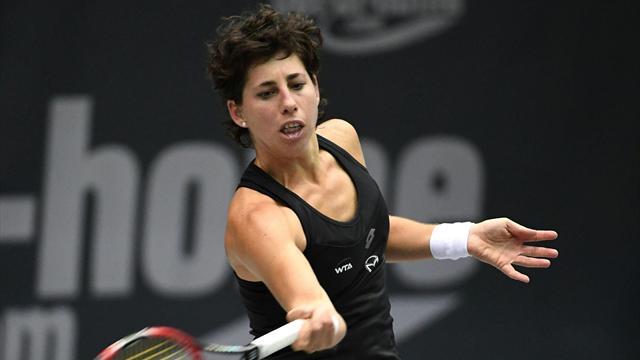 WTA Linz, Sorribes-Suárez: Lógica aplastante (4-6 y 1-6)