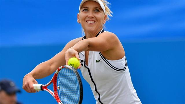 Веснина обыграла Винус и вышла в полуфинал турнира в Индиан-Уэллс