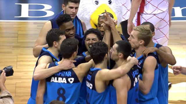 Highlights: Alba Berlin edge to win over Montakit Fuenlabrada