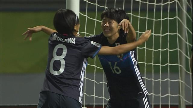 Japan oust England to progress to U-17 Women's World Cup last four