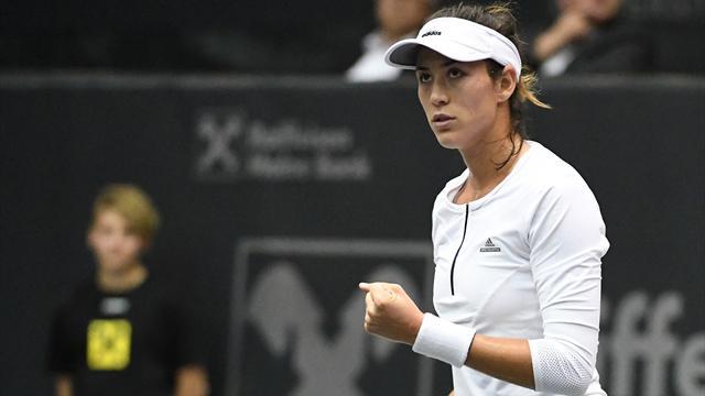 WTA Linz, Muguruza-Niculescu: Allanando el camino a Singapur (6-1 y 6-1)