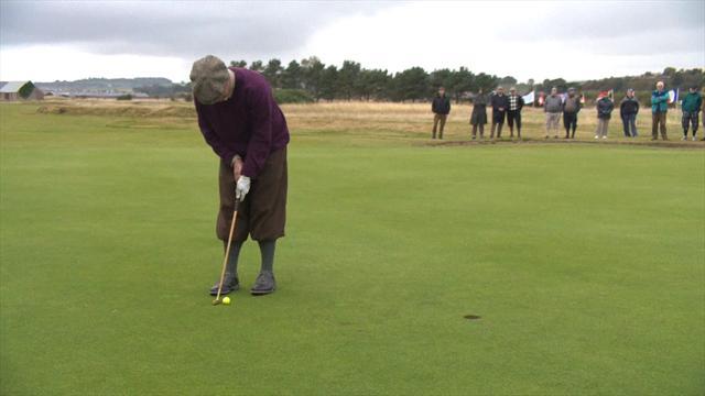 Lyle wins retro Hickory Open Golf Championship in Scotland