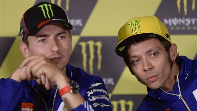 Jorge Lorenzo presto in Yamaha da collaudatore: accolta l'idea di Valentino Rossi