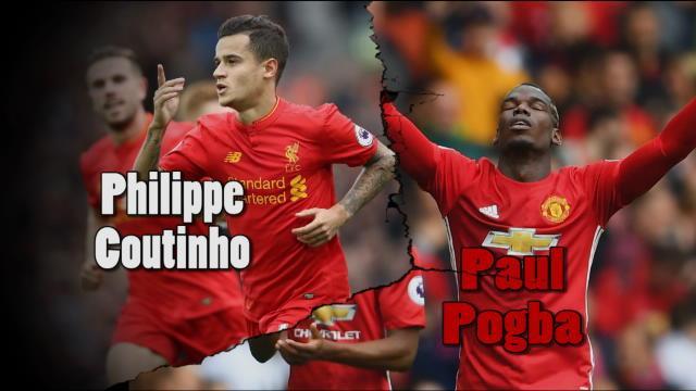 Le match dans le match : Coutinho – Pogba