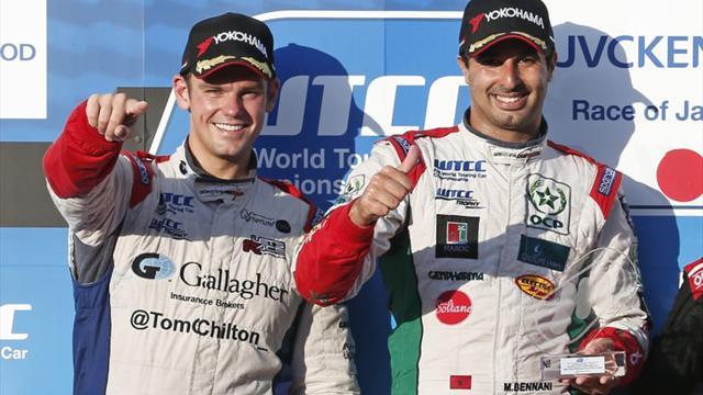 Chilton: Bennani deserved WTCC Trophy glory