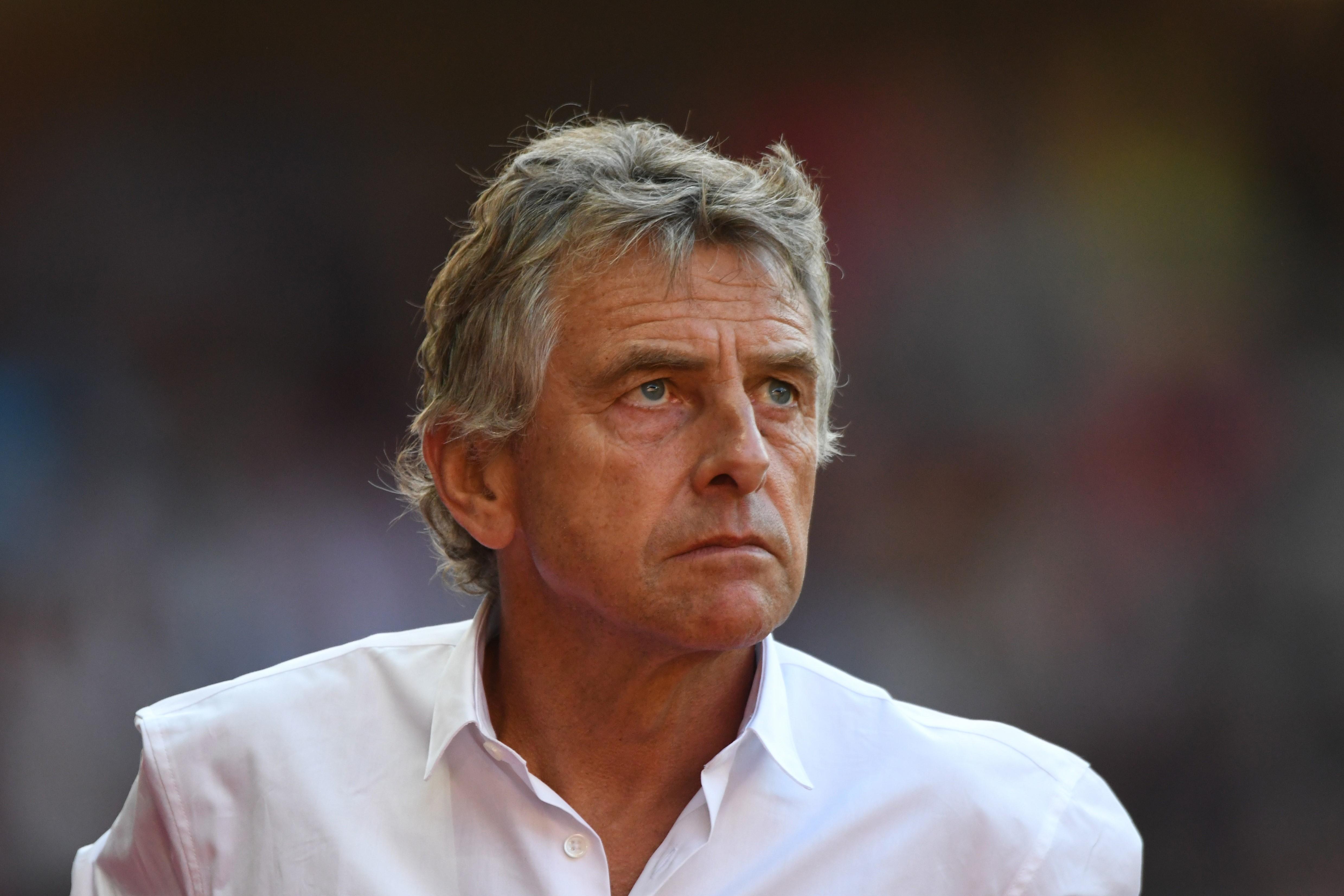 Christian Gourcuff, l'entraîneur du Stade Rennais.