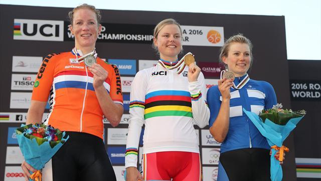 La Danoise Dideriksen sacrée championne du monde