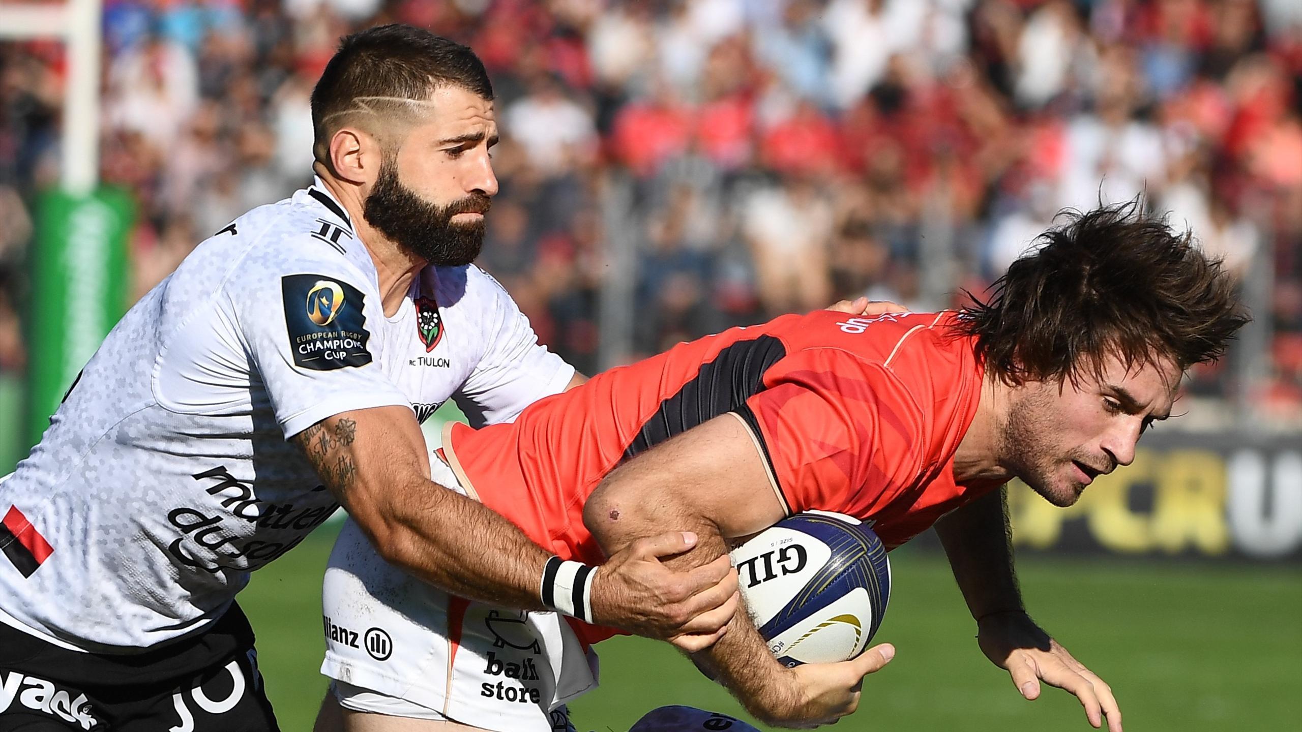 Marcelo Bosch (Saracens) face à Toulon - 15 octobre 2016
