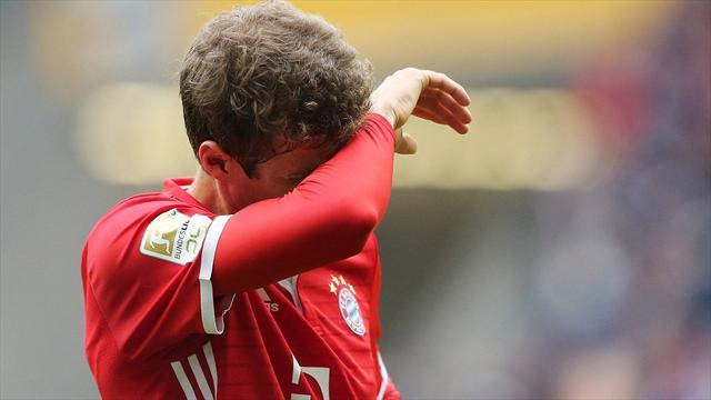 Empate del Bayern, que suma tres partidos seguidos sin ganar