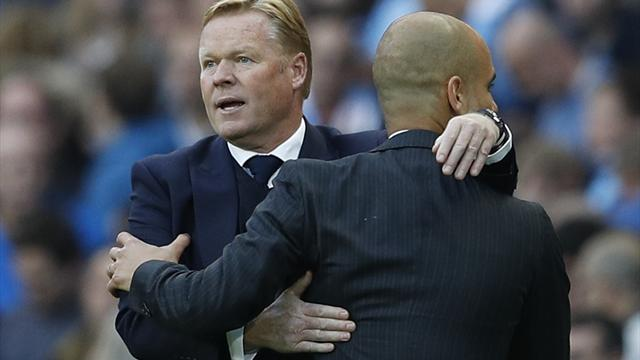 Ronald Koeman: City are the best side I've ever faced