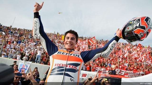 Марк Маркес стал трехкратным чемпионом MotoGP
