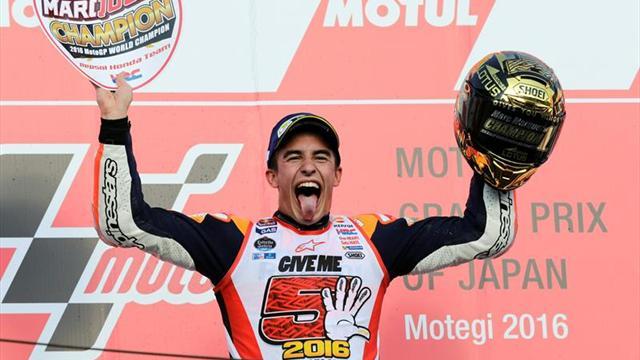 Puntero Marc Márquez busca avanzar hacia el título en Motegi — MotoGP