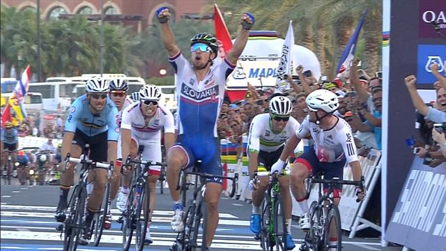 Sagan retains world championship road race title