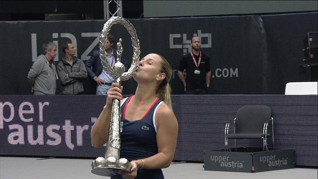 WTA Linz: Victoria de Cibulkova, y plaza para Singapur