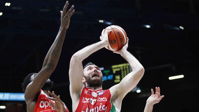Milano cade ad Atene, il Panathinaikos si impone 74-61