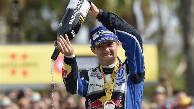 Ожье выиграл Ралли Великобритании, Volkswagen выиграл Кубок Конструкторов