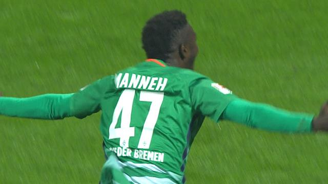 'Am I dreaming? This is the greatest moment of my life!' Refugee Manneh scores Bundesliga goal