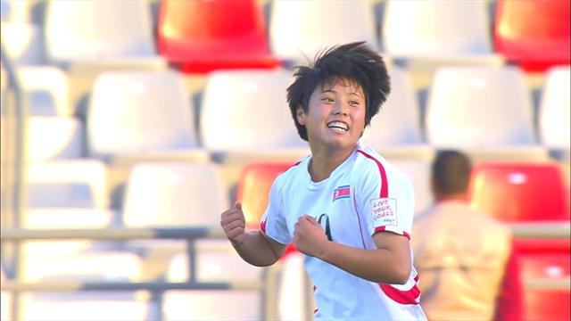 U17-WM der Frauen: Nordkorea zieht souverän ins Finale ein