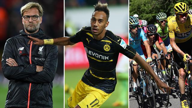 FRÜHSTÜCK: Klopp remis, BVB und Bayer gefordert, Tour de France wird vorgestellt