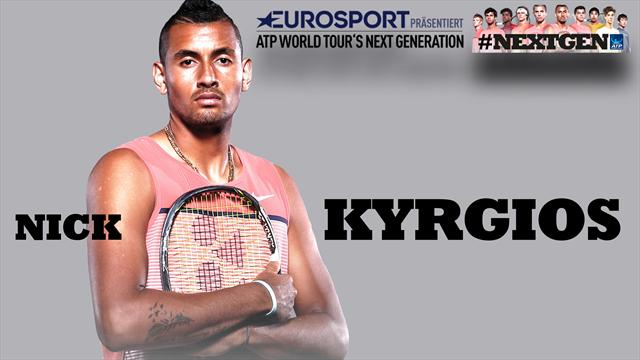 """Kyrgios exklusiv und offensiv: """"Ich spiele Hochrisiko-Tennis"""""""
