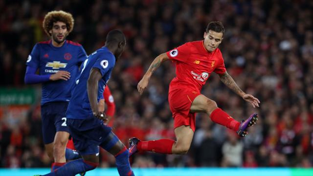 Liverpool v Manchester United player ratings