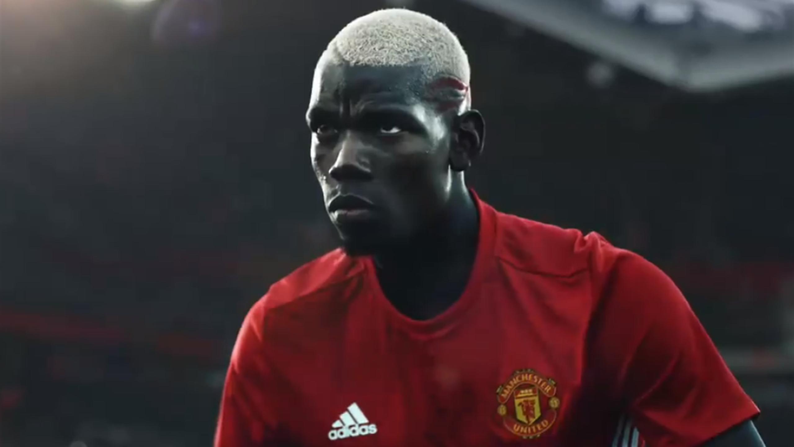 Paul Pogba dans la dernière pub Adidas.