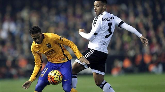El Valencia no gana al Barcelona en Mestalla desde hace casi diez años