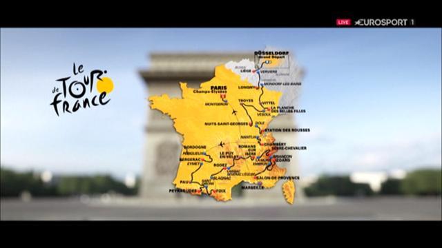 Tour de France 2017: Die Strecke in der 3D-Animation