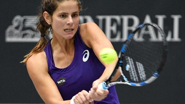Tennis: Görges und Barthel im Achtelfinale