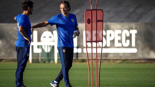 Prandelli corrige errores con una sesión de vídeo ante la visita del Barcelona